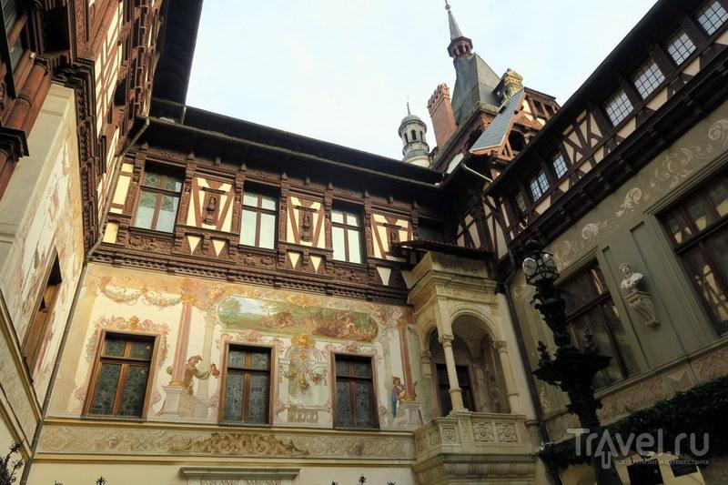Румыния: Замок Пелеш / Фото из Румынии