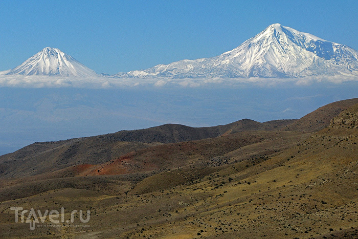 О вершинах Кавказа. Арарат / Фото из Армении
