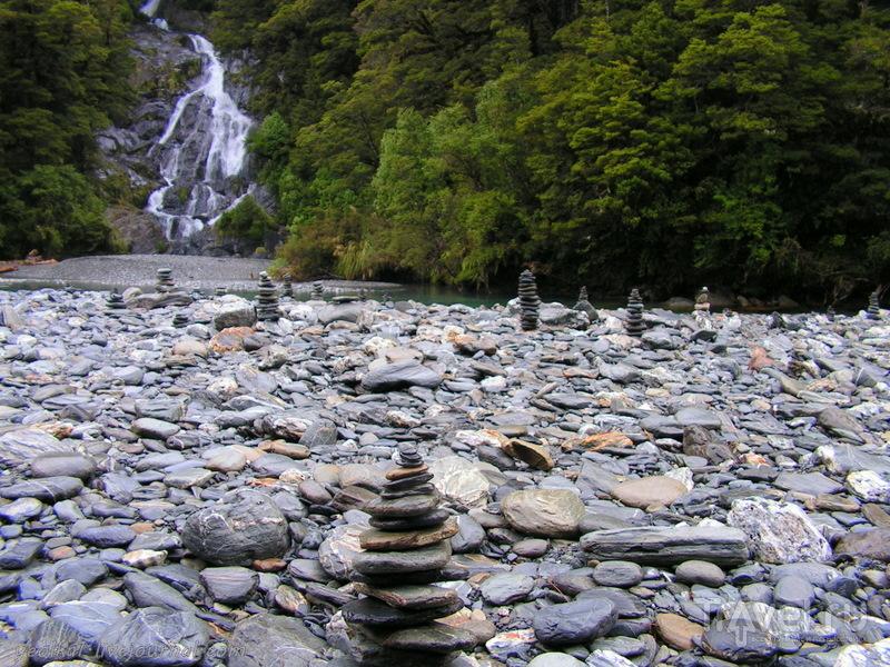 В стране антиподов. Хааст Пасс - древняя тропа Маори / Фото из Новой Зеландии