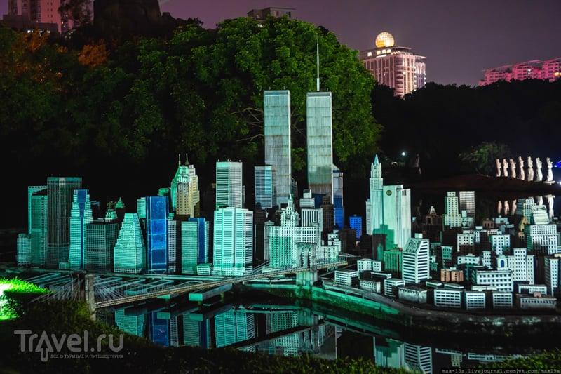 """Китай, Шэньчжэнь: парк-миниатюр """"Окно в мир"""" (Window of the World) / Фото из Китая"""