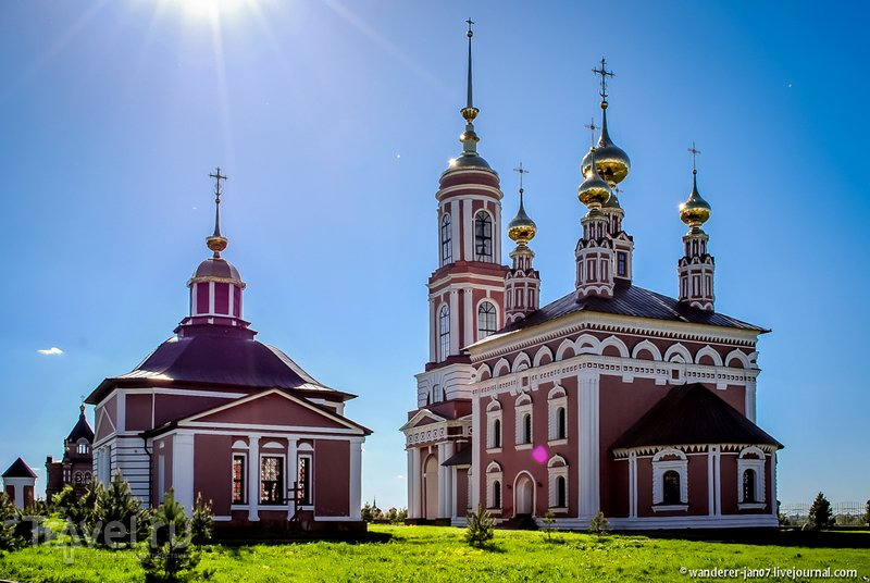 Кидекша и район Михали / Фото из России