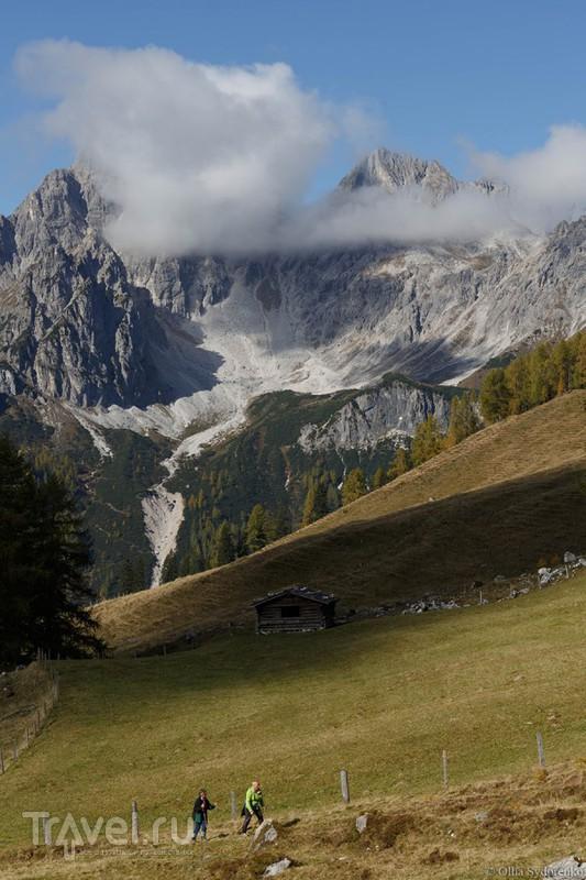 Gosaukamm. Горный хребет Гозаукам. Австрия / Фото из Австрии