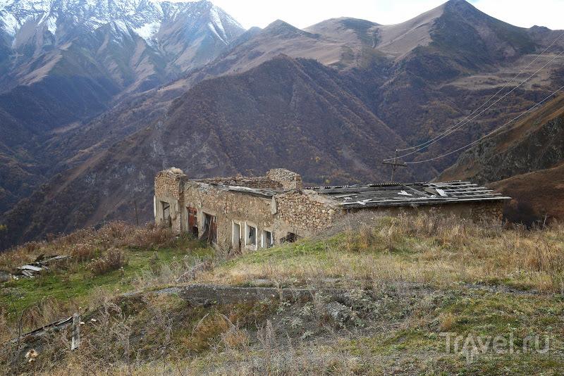Заброшенныу рудник пос. Верхний Згид. Северная Осетия / Россия