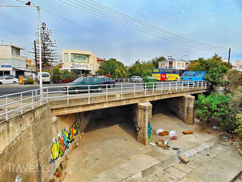 Суэцкий мост в Лимассоле. Короткая история, связанная с названием и телевидением / Кипр