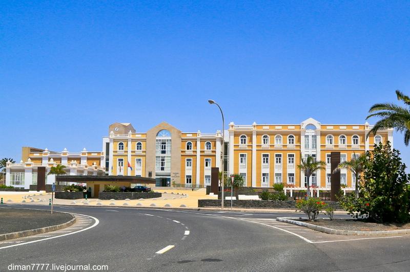 Арресифе - столица Лансароте / Фото из Испании