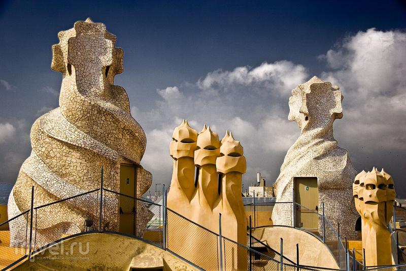 Архитектура Гауди - 10 чудес Барселоны / Испания