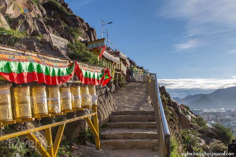 Шигатзе: монастырь Ташилунпо / Фото из Китая