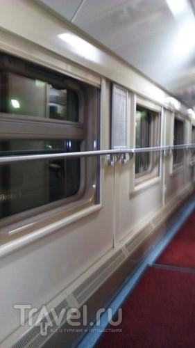 Двухэтажный поезд Москва Санкт-Петербург, почти год спустя / Россия