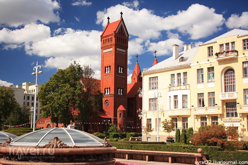 Красный Костел в Минске / Фото из Белоруссии