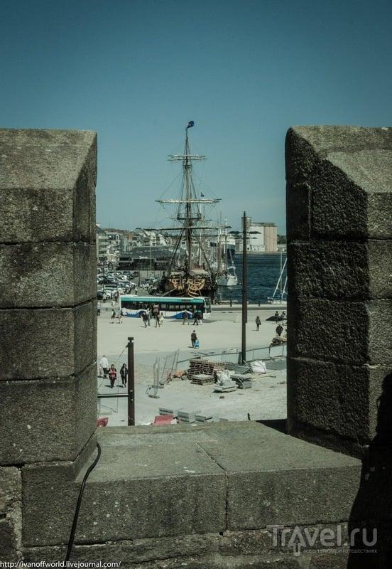 Сен-Мало - город корсаров / Фото из Франции