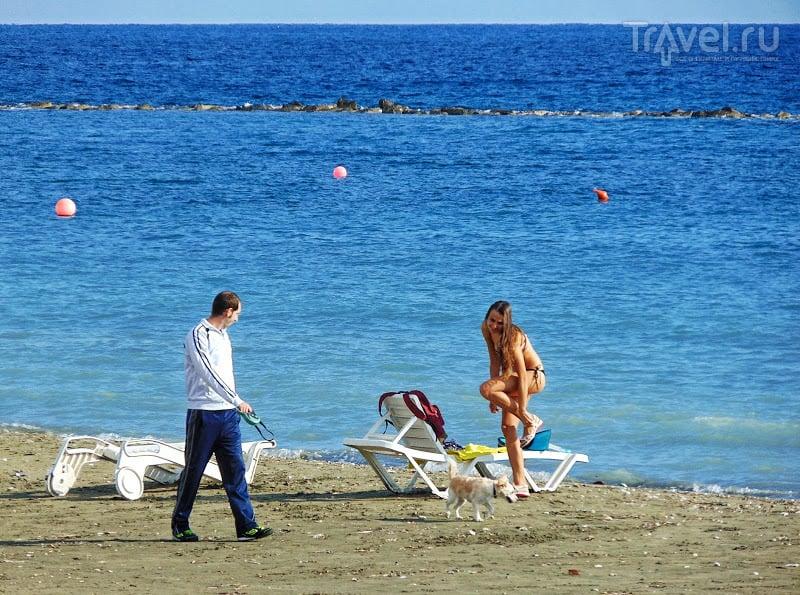Ну, чем не Балтика в августе? / Кипр