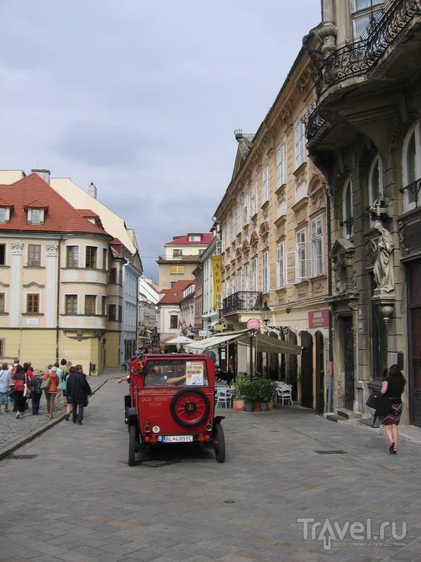 Как бесплатно заночевать в Братиславе. Из личного / Словакия