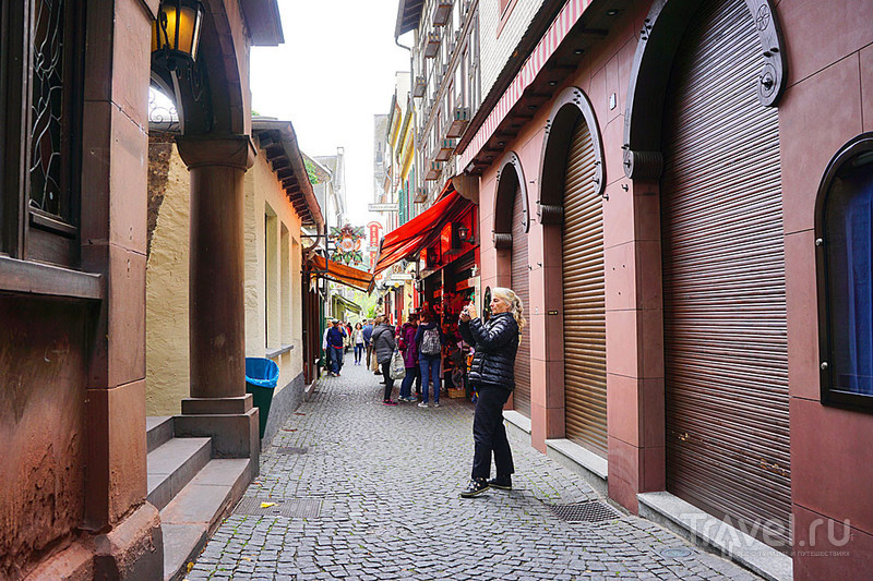 Рюдесхайм - город одной улицы / Фото из Германии