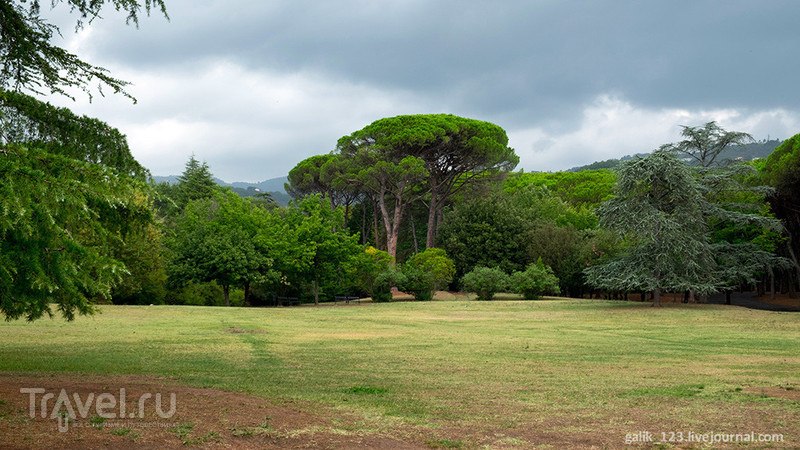 Городской парк в Монтекатини / Италия