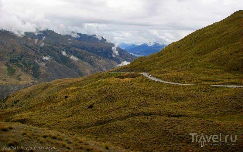 В стране антиподов. Озера Ванука и Хавеа / Фото из Новой Зеландии