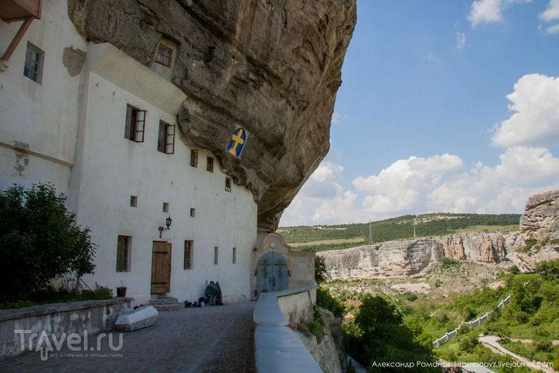 Бахчисарай: Успенский пещерный монастырь / Фото из России