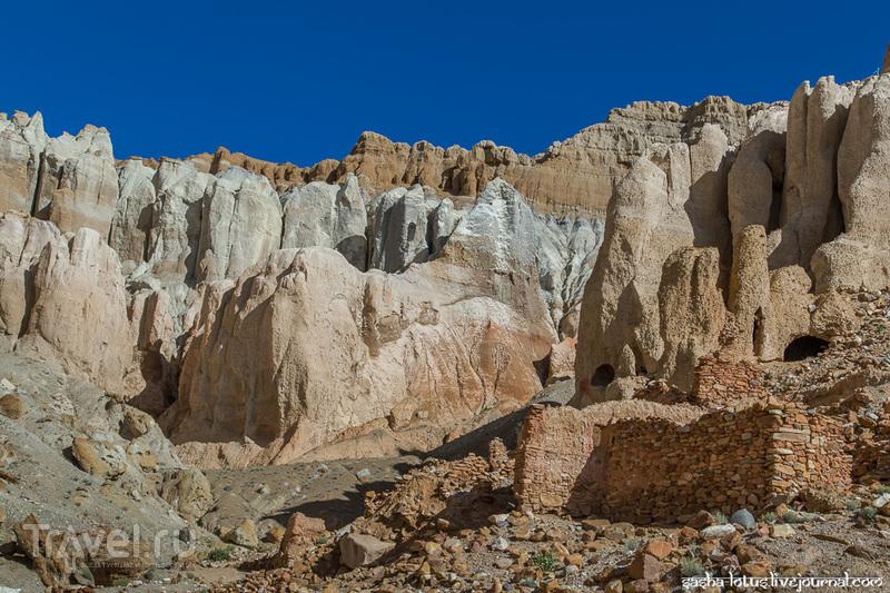 Тибет: у руин пещерного города Куньлунг / Фото из Китая