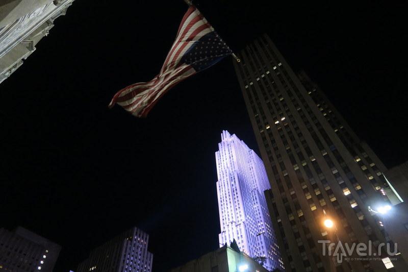 Смотровая площадка Рокфеллер-центра / Фото из США