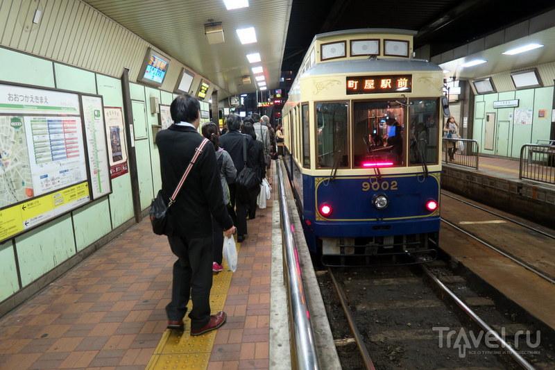 Японские трамваи и не совсем / Фото из Японии