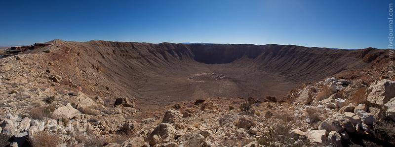 США. Аризонский метеоритный кратер / Фото из США