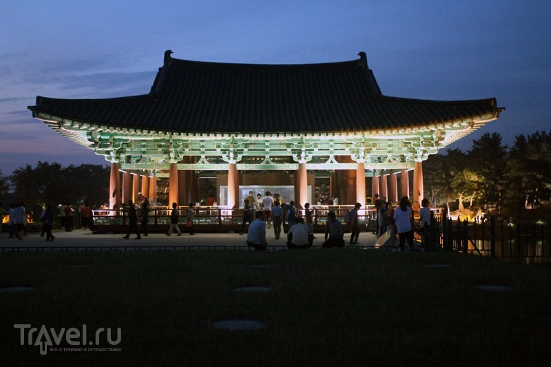 Корея: Кёнджу. Несколько традиционных кварталов / Южная Корея