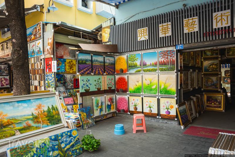 Китай, Шэньчжэнь: деревня художников Дафен / Фото из Китая