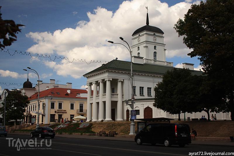 Минск. Площадь Свободы / Фото из Белоруссии