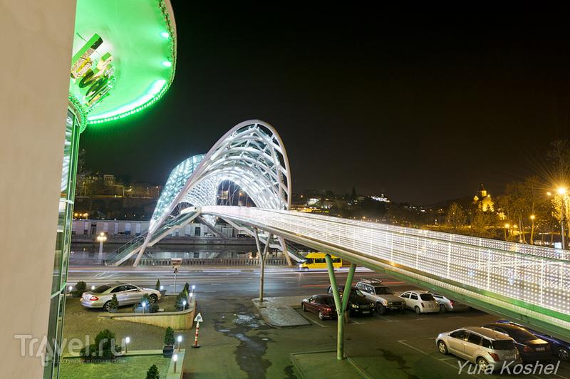 Тбилиси с холма Сололаки / Фото из Грузии
