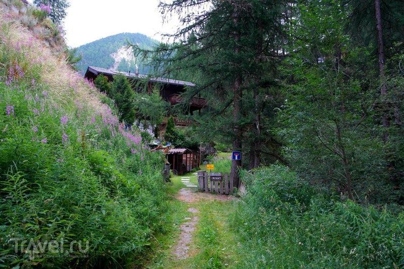Церматт, Швейцария - Прогулка по деревне / Швейцария