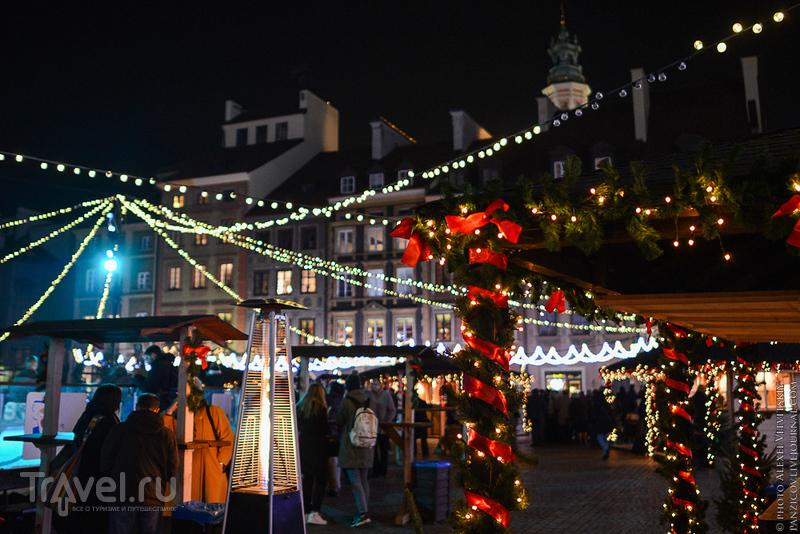 Новогодняя Варшава / Фото из Польши