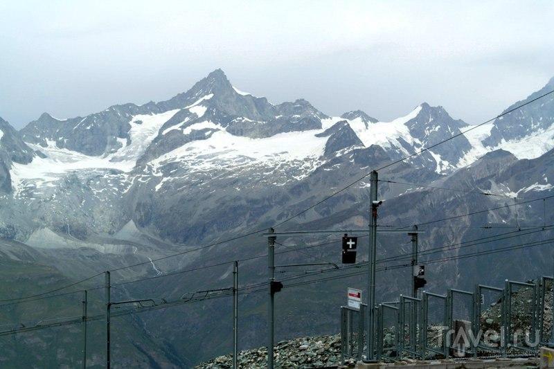 Подъем на Горнерграт в Швейцарии / Швейцария