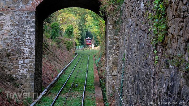 Фуникулёр - как средство передвижения / Италия