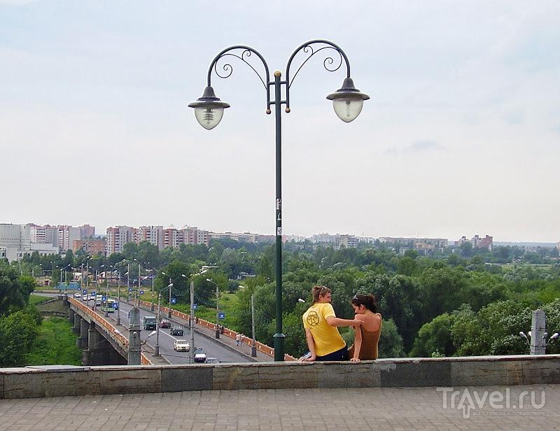 Беларусь. Могилёв. Городская ратуша на Советской площади / Белоруссия