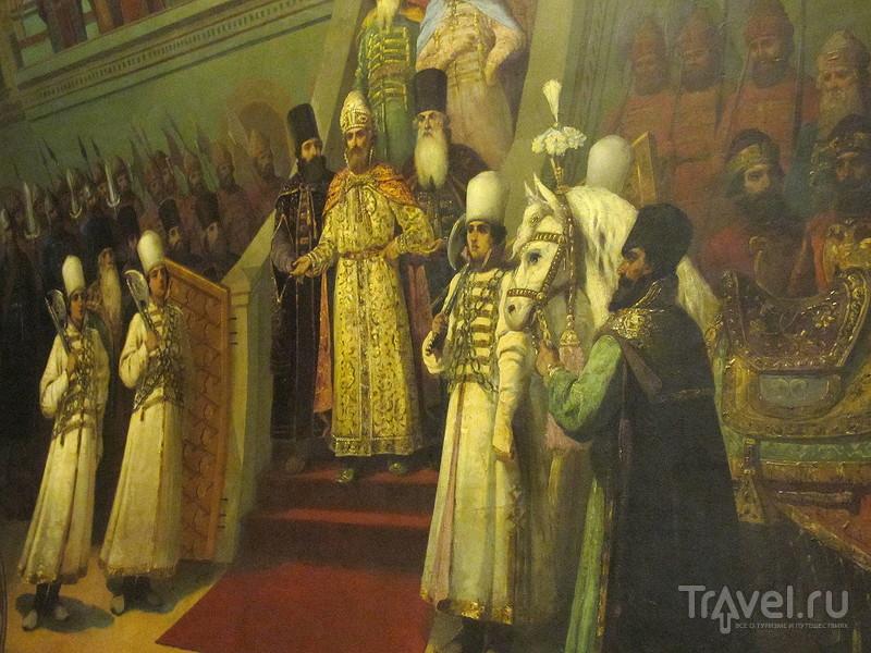 Экскурсия во дворец Юсупова в Москве / Россия