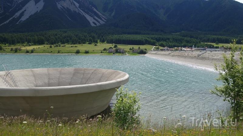Озеро Ресия. Италия / Фото из Италии