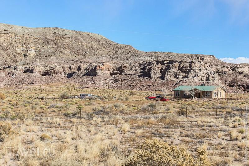 Американская глубинка. Шипрок. Нью Мексико. США / Фото из США