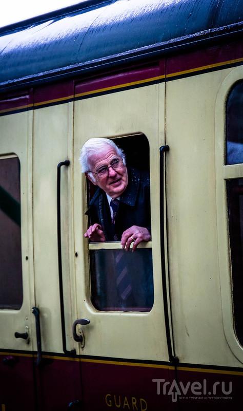 На старой железной дороге, начало января 2016 / Великобритания