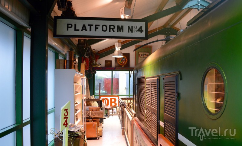 Единственный железнодорожный музей Ирландии / Ирландия