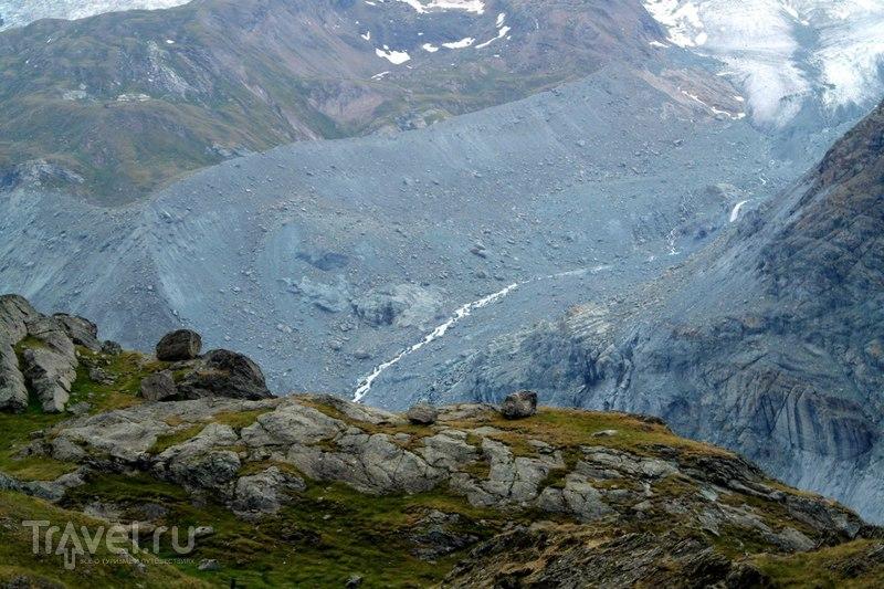 Горнерграт - Спуск с Ротенбодена к Церматту / Швейцария