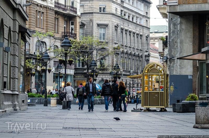 Главная пешеходная улица Белграда / Фото из Сербии