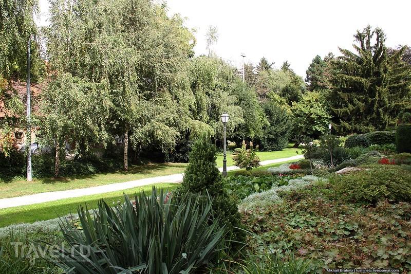 Маленький парк в Вараждине / Хорватия