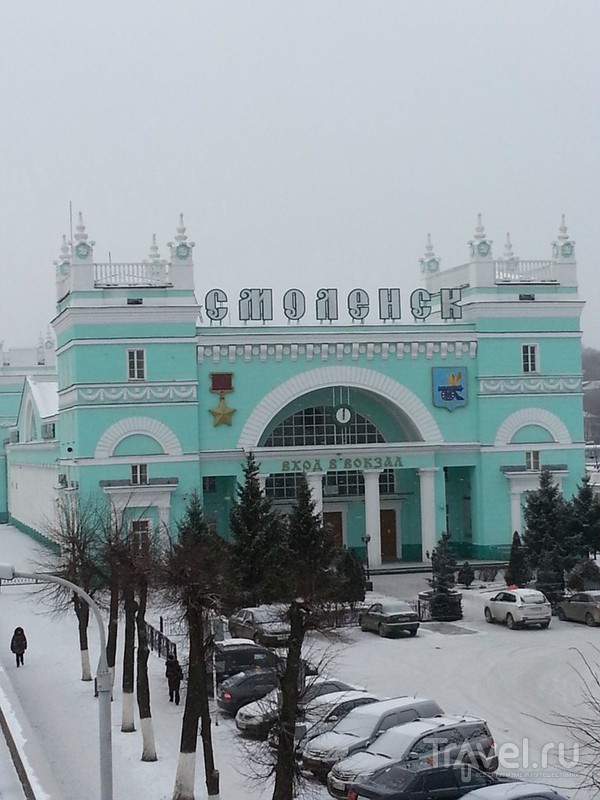 Зимой в Смоленске / Россия