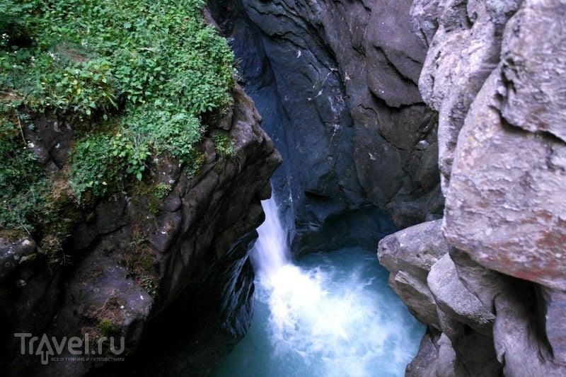 Церматт, Швейцария - Горное ущелье (Gornergorge) / Швейцария