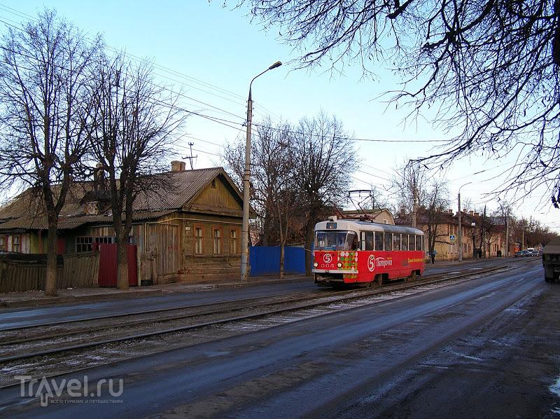 Орёл. Трамвай на Карачевской / Россия