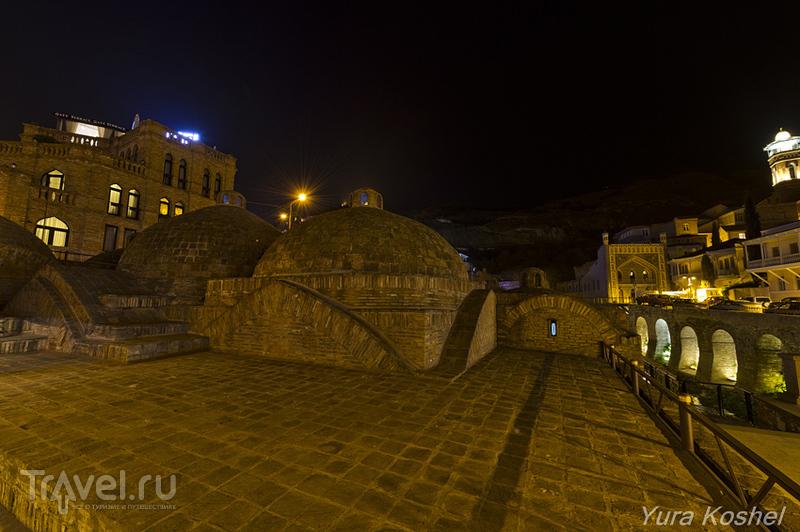 Тбилисские серные бани / Фото из Грузии