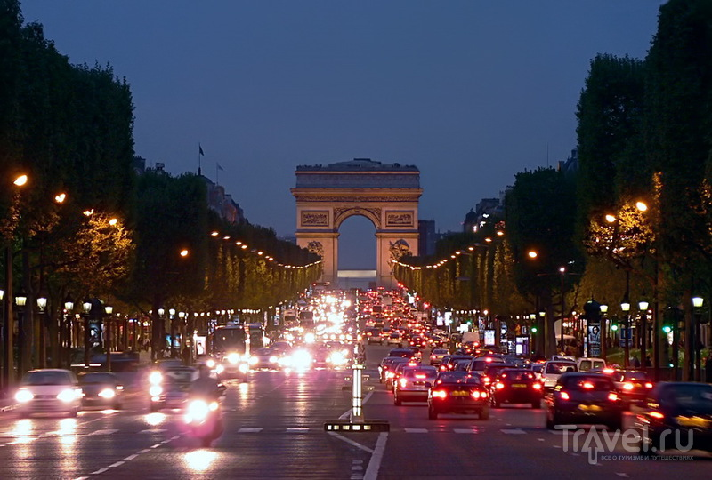 Прогулки по Парижу. Aux Champs-Elysees / Фото из Франции