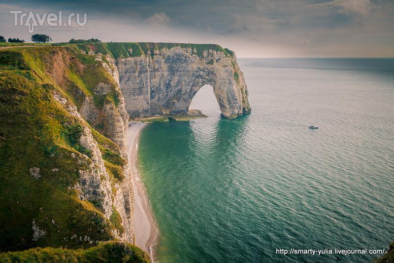 Место удивительной энергетики - Этрета / Фото из Франции