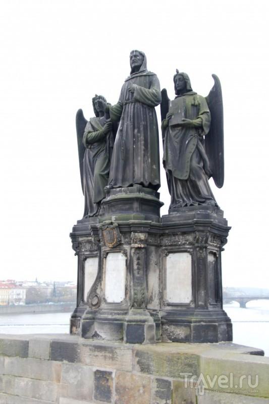 Карлов мост: от Малостранской мостовой башни до Староместской / Чехия
