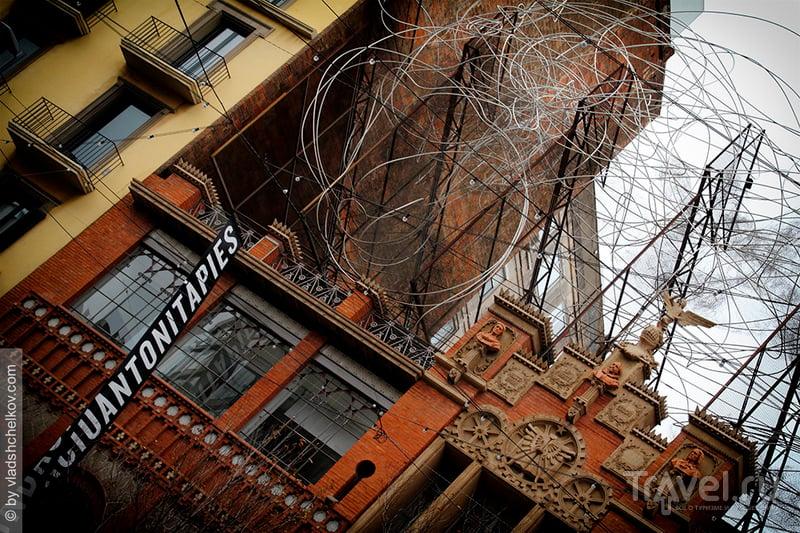 Здание Fundació Antoni Tàpies / Фото из Испании