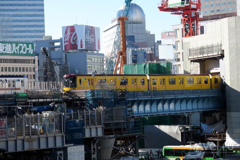 Шибуя - сердце Токио / Фото из Японии